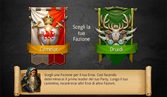 Camelot e Druidi.