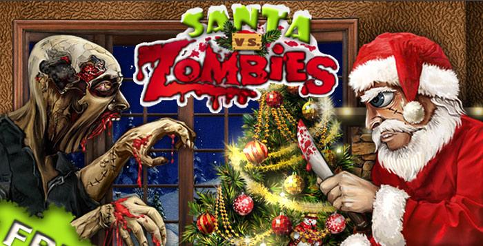 Santa vs Zombies.