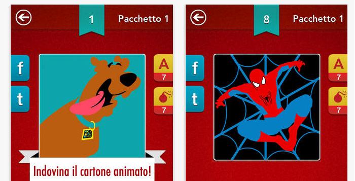 Quiz cartoni sui animati per ios soluzioni