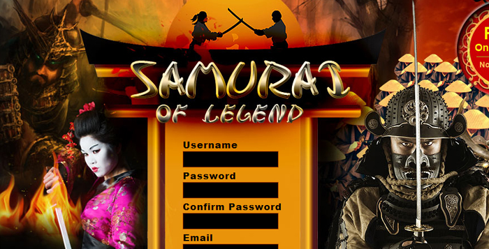 Samurai of Legends.