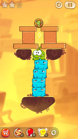 The new objects of Cut the Rope 2