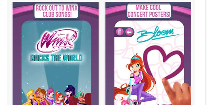 Giochi mobile delle Winx.