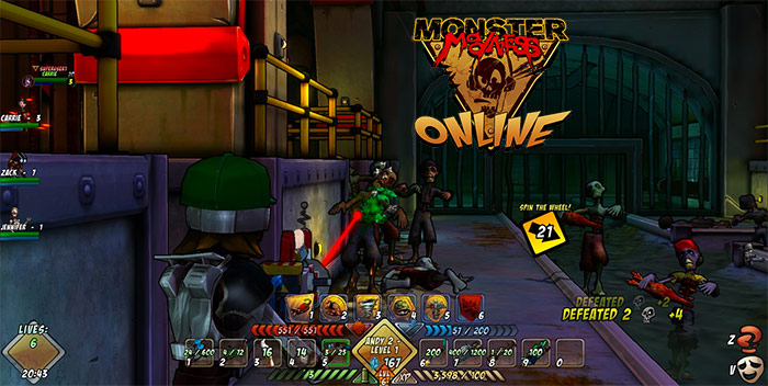 Monster Madness Online.