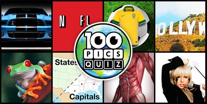 100 Pics Quiz.