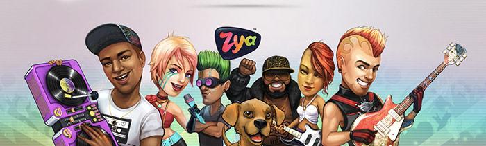 Zya, gioco musicale.