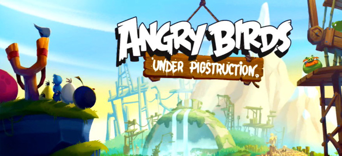 Angry Birds Under Pigstruction.