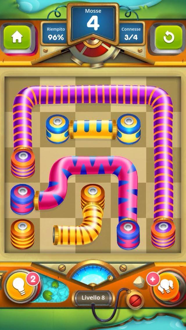 Tesla Tubes: Soluzione livello 8