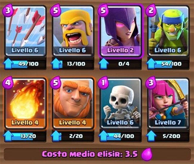 Deck ideal for Arena 5